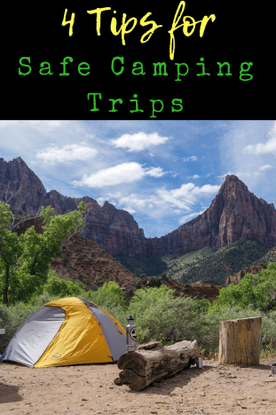 Tips for safe camping trips