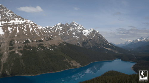 Beautiful Peyto Lake, Canadian Rockies, top freshwater destinations