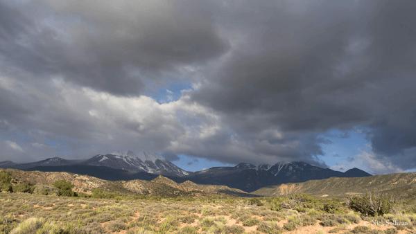 La Sal Mountains, southeastern Utah
