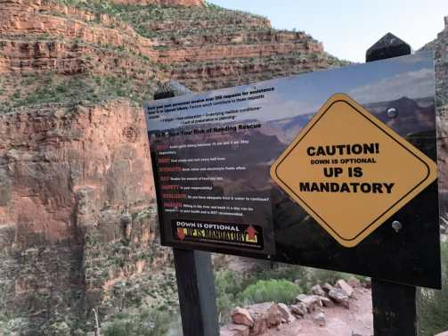 Grand Canyon Safety Tips