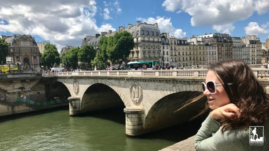 Seine River, France, traveling on a budget