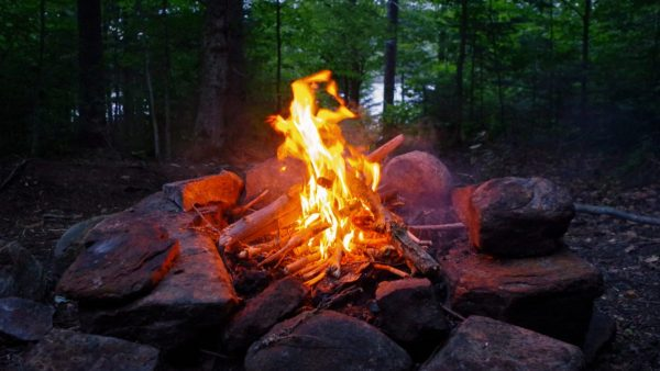 fire, camping