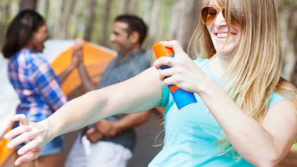 bug spray,  forgotten items for camping trips