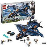 LEGO 76126 Marvel Avengers Ultimate Quinjet Plane, Super Heroes Playset