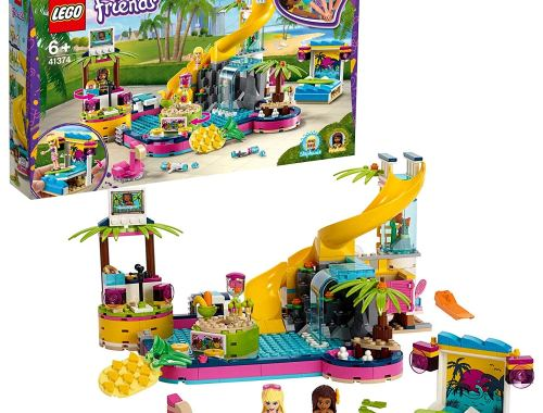 LEGO 41374 Friends Andrea's Pool Party Set