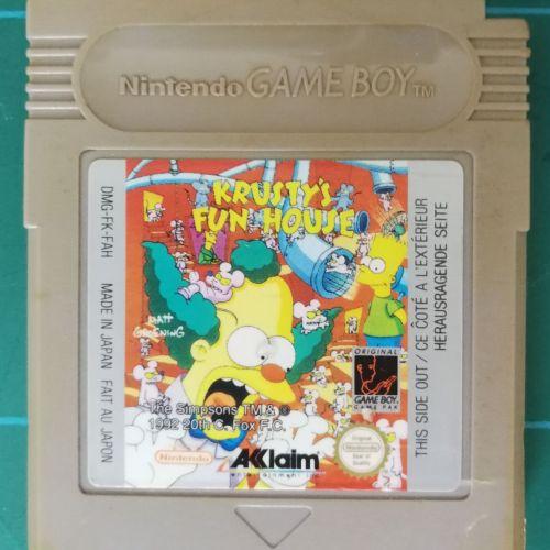 Krusty's Fun House (Game Boy)