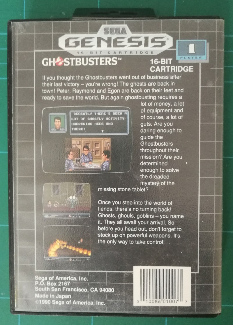 Ghostbusters (Genesis)