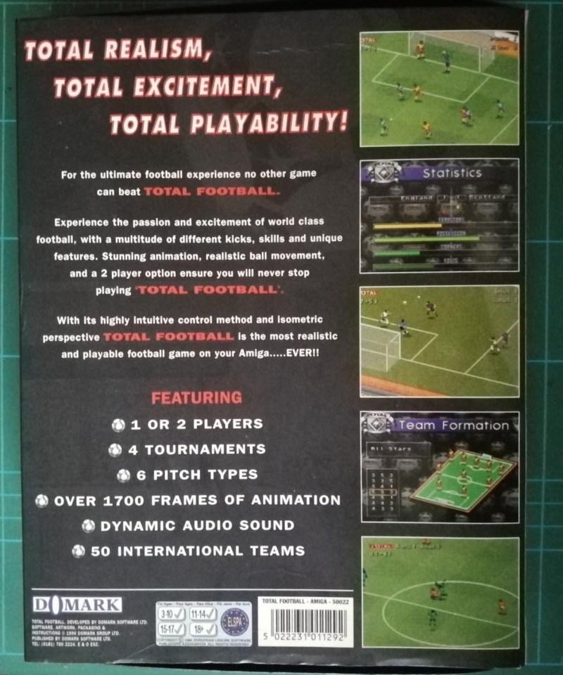 Total Football (Amiga)