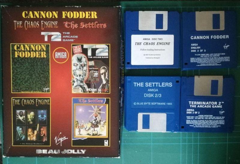 Beau Jolly Collection (Amiga)