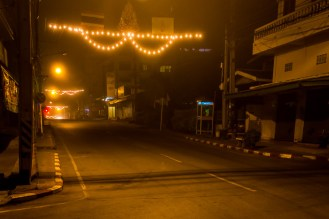 Mae Hong Song at dawn