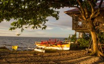 The Seascape Beach Resort own banka.