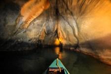 Going underground. Photo by Chris Chew