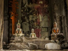 One of the shrines inside Angkor Wat