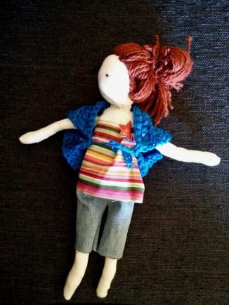 Doll dressed 4
