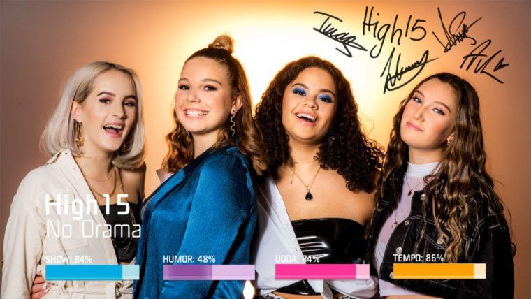 Eurovision 2019 Sweden Melodifestivalen SF1 - High15