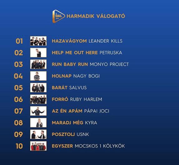 Eurovision 2019 Hungary ADAL SF3
