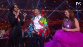 escbeat Melodifestivalen 2019 Charlotte Perrelli and Dana International3