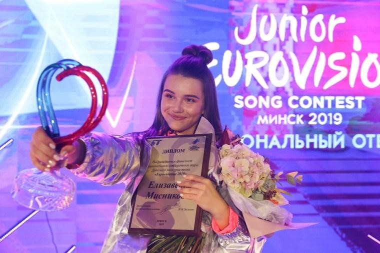 Belarus JESC 2019 - Elizabeta Misnikova Winner- .jpg