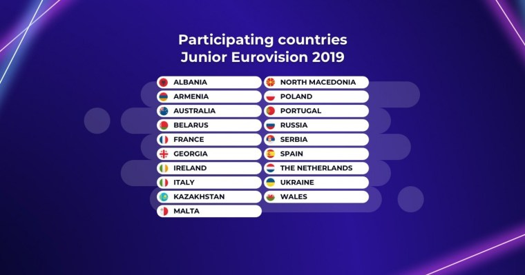 Junior Eurovision 2019 - participants.jpg