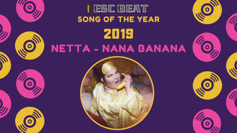 ESCBEAT Music Awards 2019 - Netta - Nana Banana (song of the year)