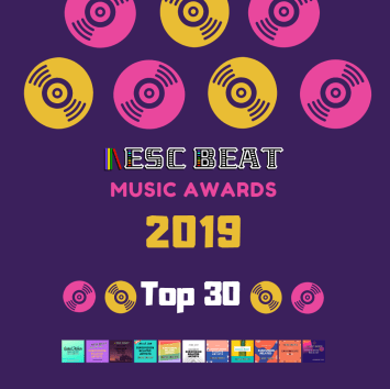 ESCBEAT Music Awards 2019 - Top30 #Playlist