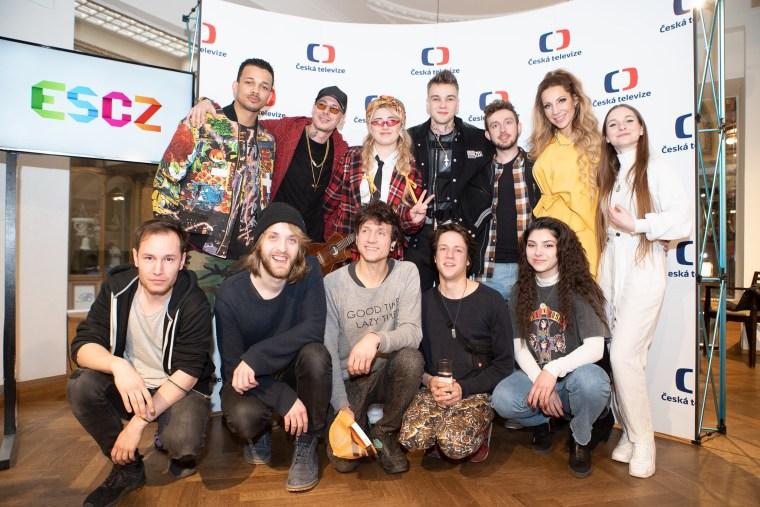 Czech 2020 ESCZ, Eurovision Acts and Mikolas Josef.jpg