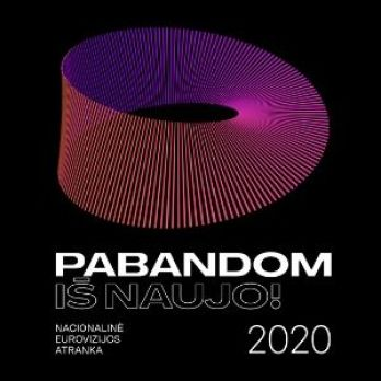 Lithuania 2020 (Eurovizijos Atranka Pabandom iš Naujo 2020, Eurovision) (ESCBEAT.com) 300x303