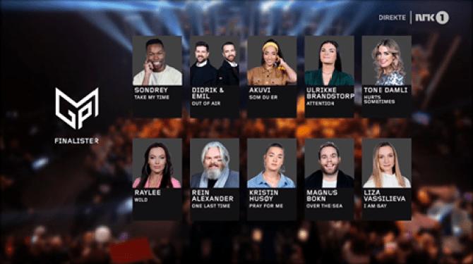 Norway 2020 finalists