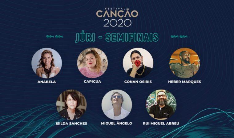 Portugal 2020 Festival Da Canção jury