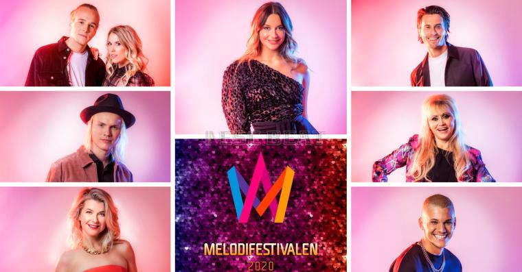 Sweden Eurovision Melodifestivalen 2020 - SF4 Acts