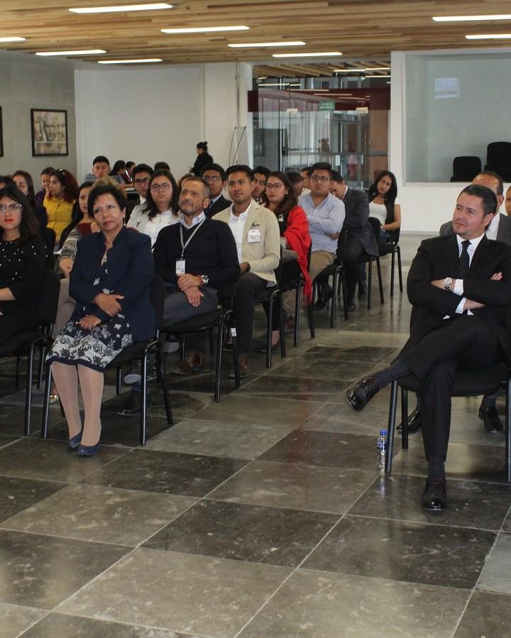 Imparten conferencia magistral sobre presunción de inocencia en el Poder Judicial.