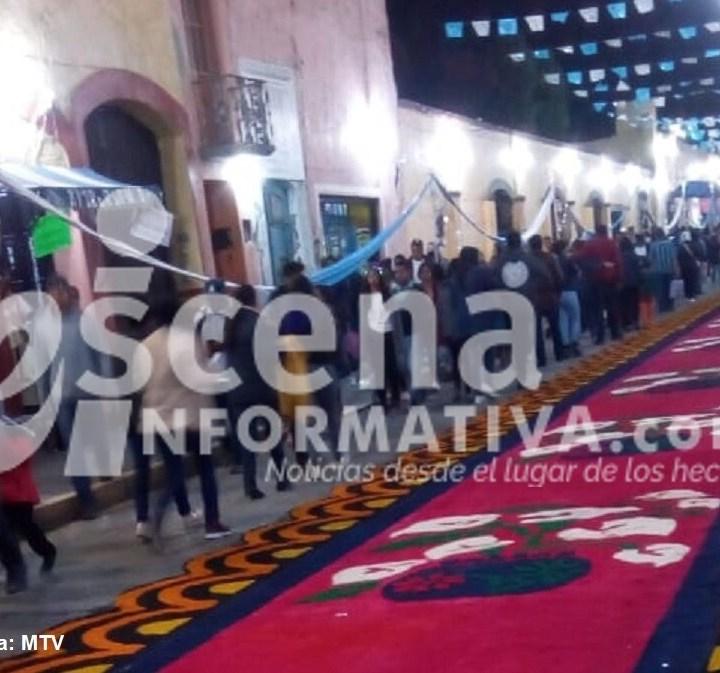 Arte, fe, magia y devoción en la Noche que Nadie Duerme de Huamantla 2019.