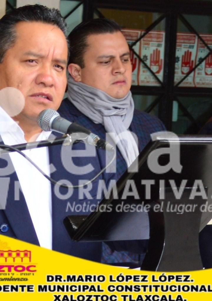 Se reincorpora alcalde de Xaloztoc a sus funciones tras problemas de salud