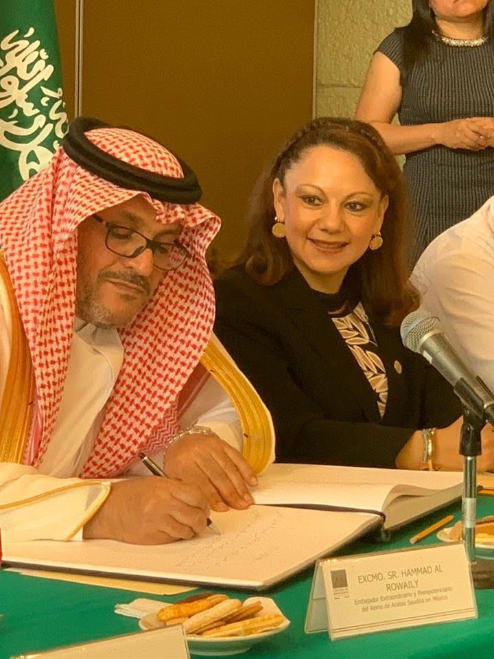 Encabeza el Gobierno del Reino de Arabia Saudita y la Diputada Federal Claudia Pérez, Grupo de Amistad con México
