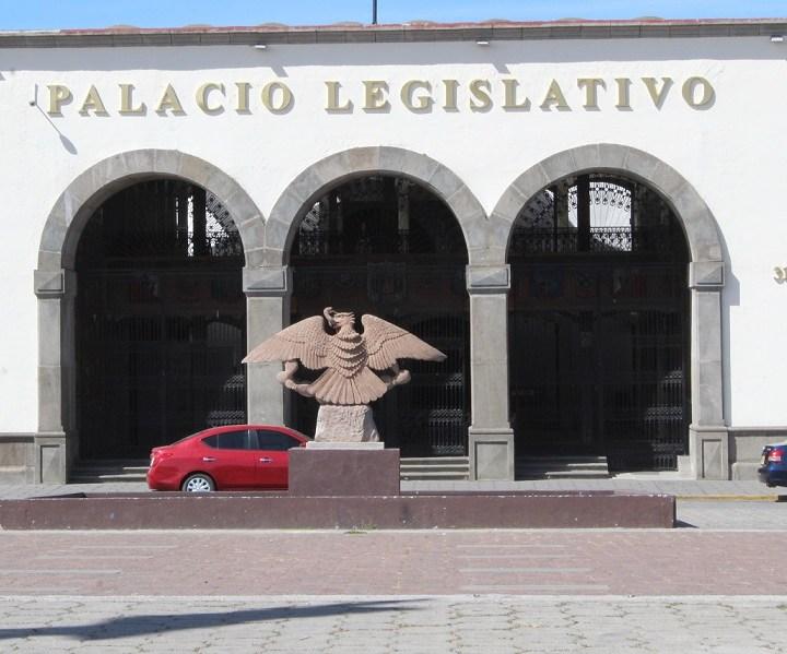 "Diputados ""Guadalupanos""; suspenden sesión de este jueves."