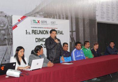 Realiza IDET reunión con directores municipales del deporte