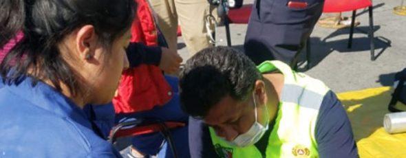 32 trabajadores de CONDUMEX-Ixtacuixtla los intoxicados por derrame de amoniaco.