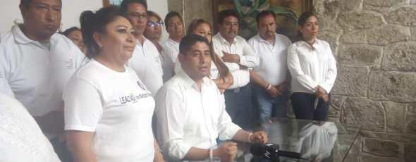 No soy el candidato de Demetrio Rivas para llegar la SNTE-31, aclara Morales Juárez