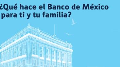 Photo of ¿Qué hacen el BANXICO para ti y tu familia? – INICIA: 1 de Febrero de 2017