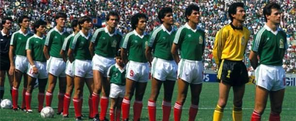 La mejor selección mexicana durante el Mundial de México 86.