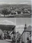 Ansichtskarte mit Panorama vom Kohlberg, Schwalbacher Straße und Kirche