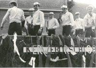 Kerbewagen der Kerbeborsch Esch 1968, Foto Familie Ott