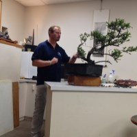 Marc Noelanders at Natures Way Bonsai Nursery