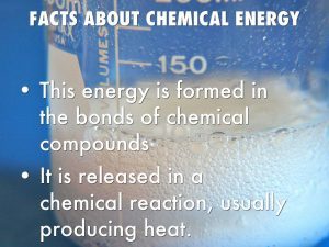 Chemical energy facts