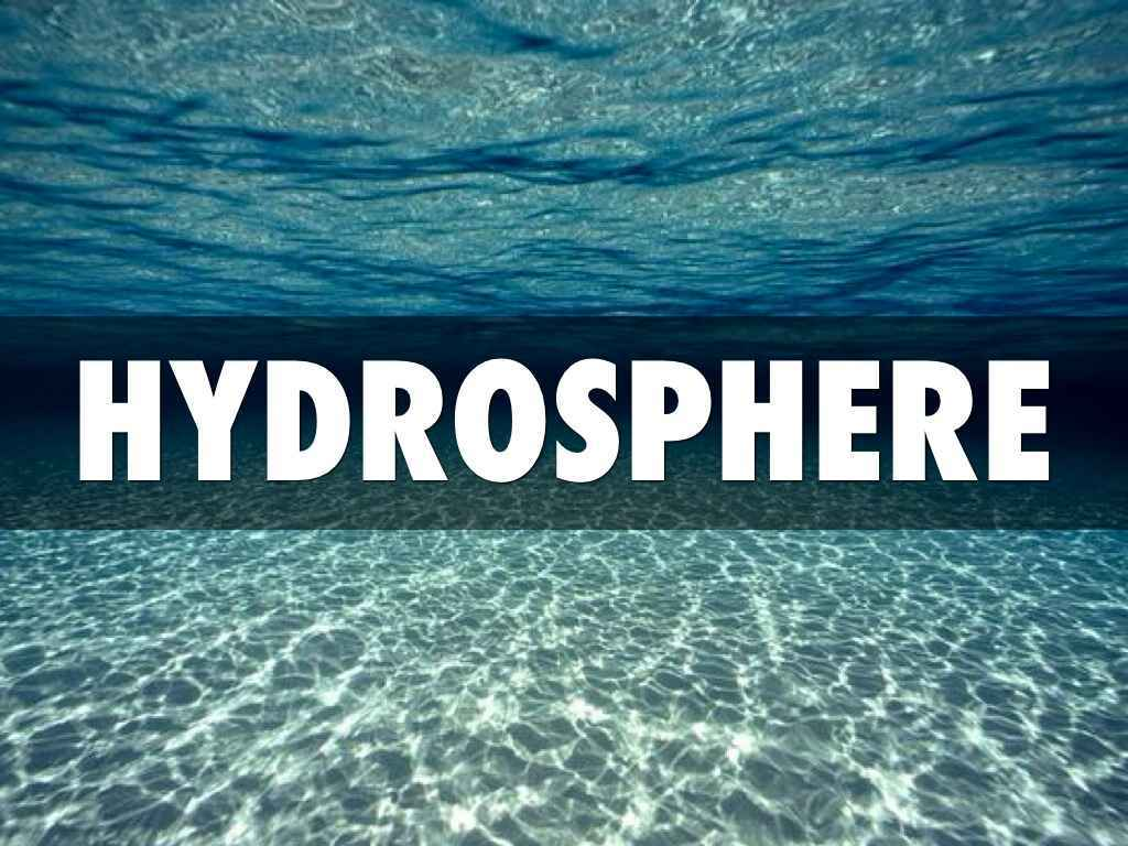 Hydrosphere Definition Introduction Amp Types Of