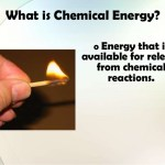 What is chemical energy