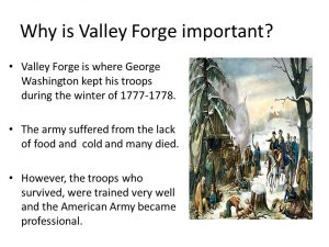 Importance of valley