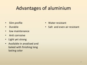 Advantages of aluminum recycling
