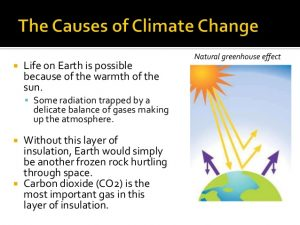 Effects of climate cause