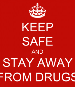 How to stay away from drugs
